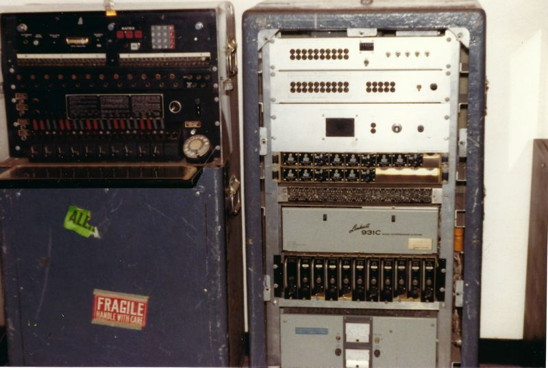 WHCA Portable Switch at Smithsonian Museum June 1988 Photo by Tim Tyler  2