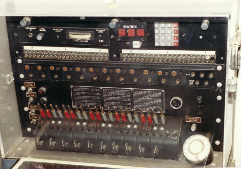WHCA Portable Switch at Smithsonian Museum June 1988 Photo by Tim Tyler 3