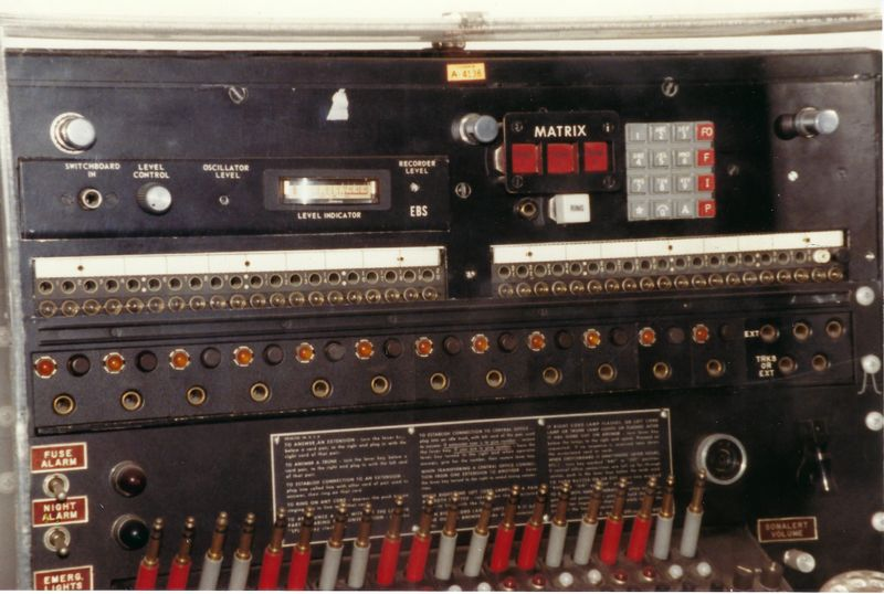 WHCA Portable Switch at Smithsonian Museum June 1988 Photo by Tim Tyler  4